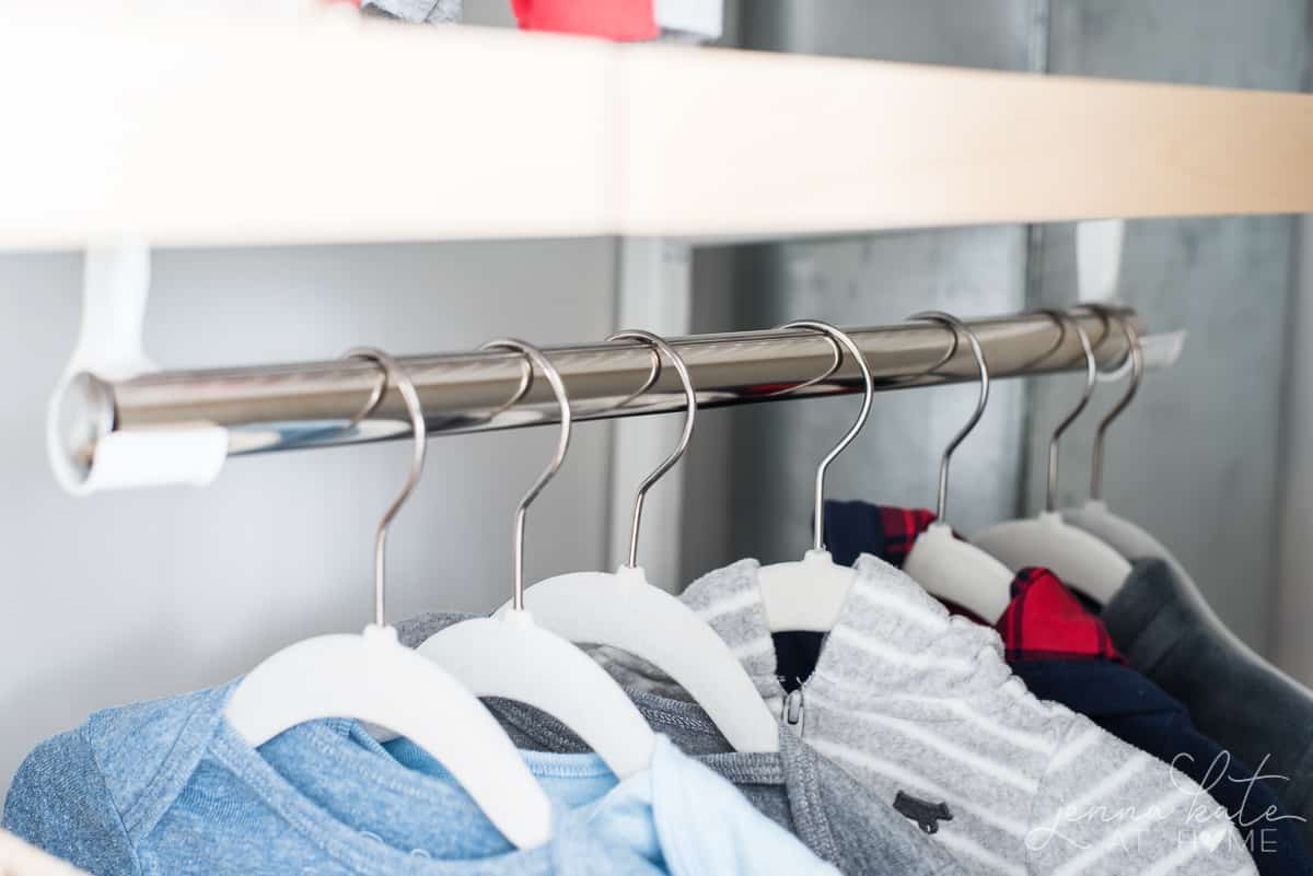 Nursery closet ideas