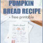 easy and moist pumpkin bread recipe