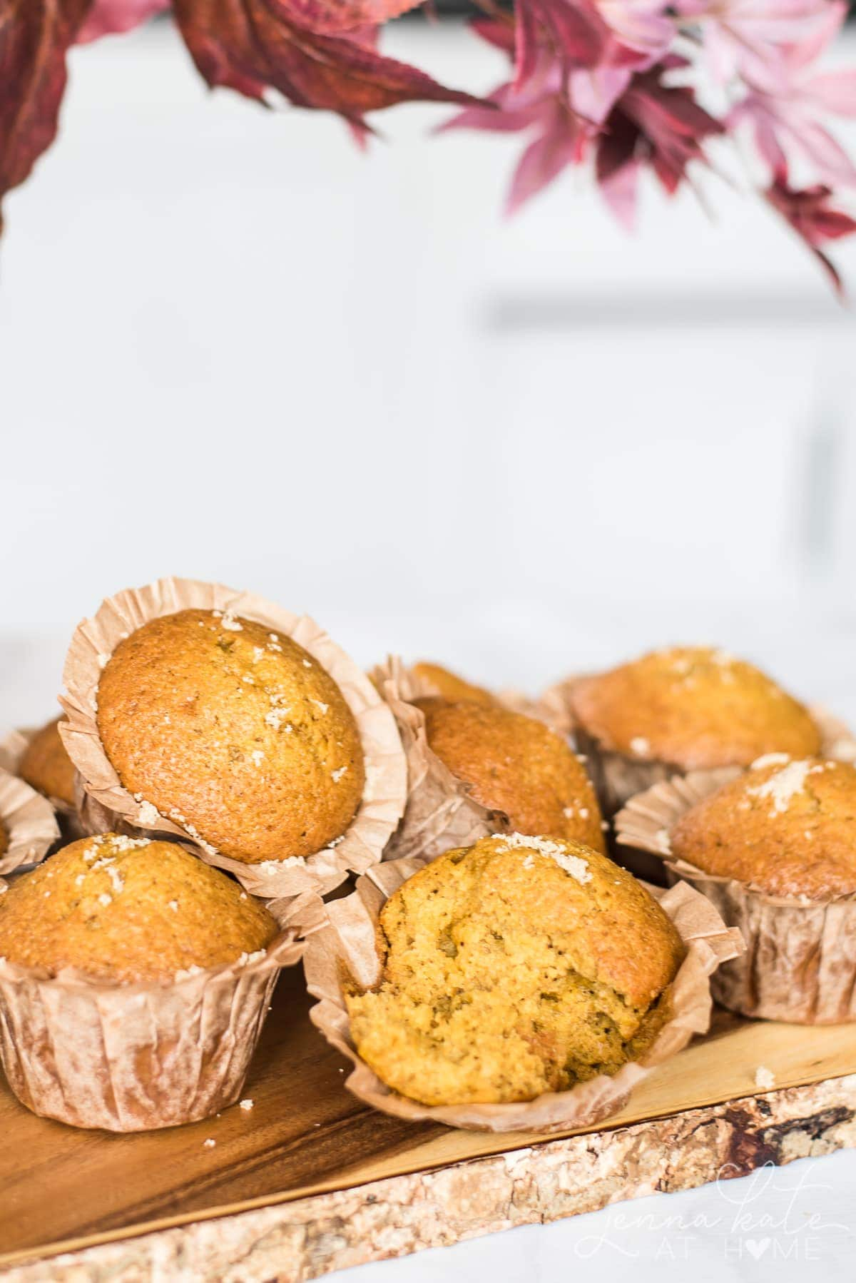 Easy and healthy pumpkin muffins