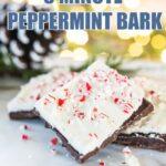easy peppermint bark recipe