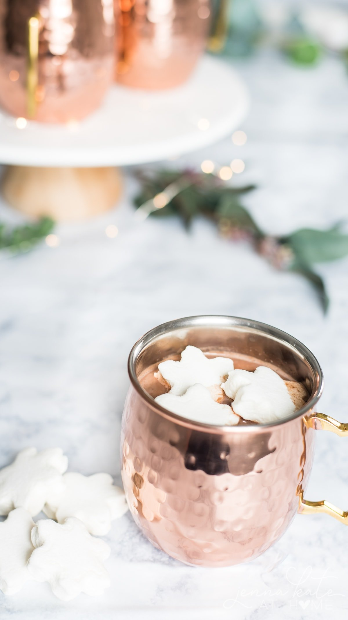 Made from scratch easy hot chocolate recipe without cocoa powder