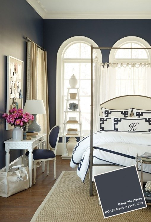 The best paint colors for dark rooms and basements. All the best Sherwin Williams and Benjamin Moore choices!