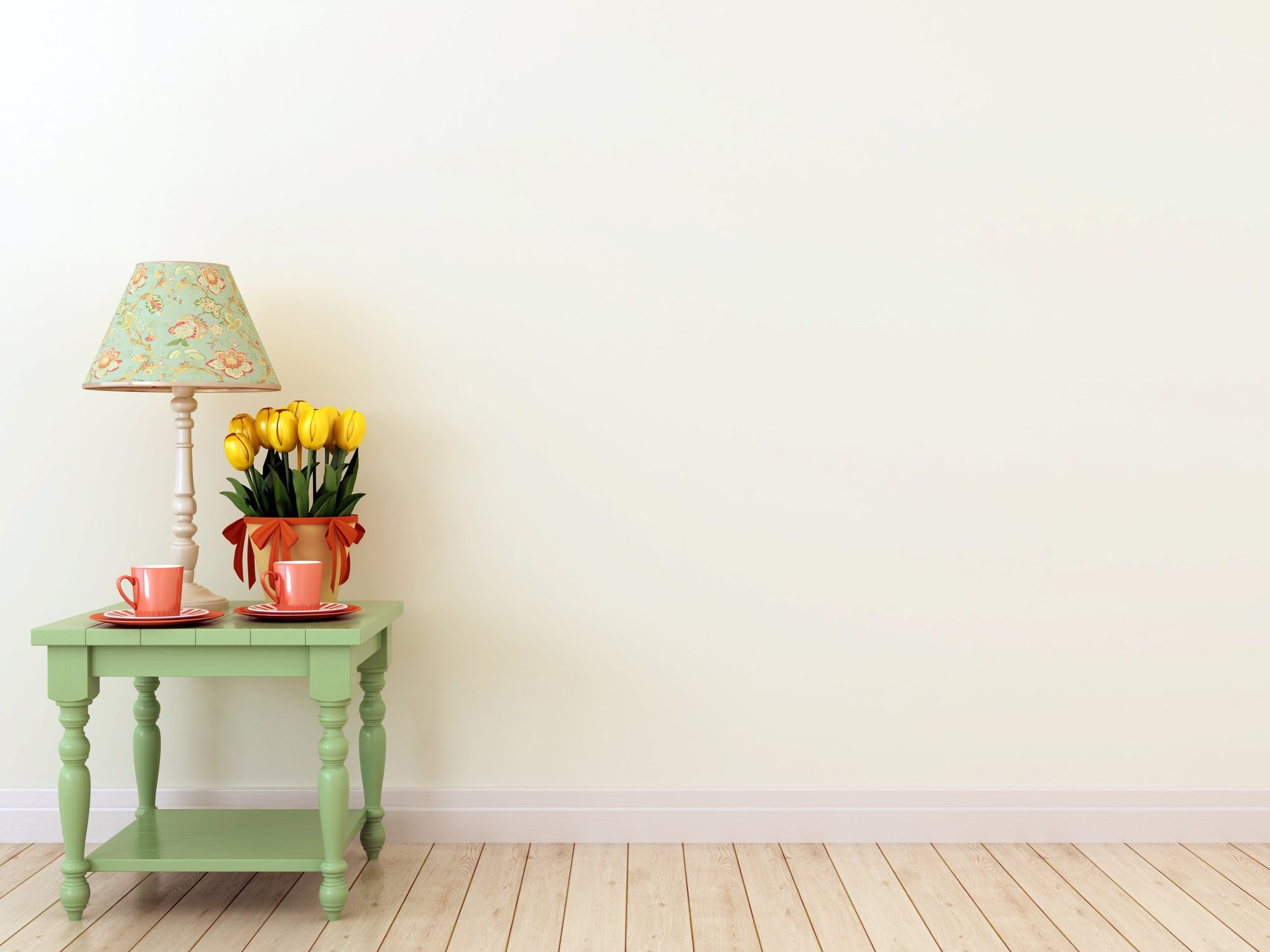 Paint colors for rooms with little natural light