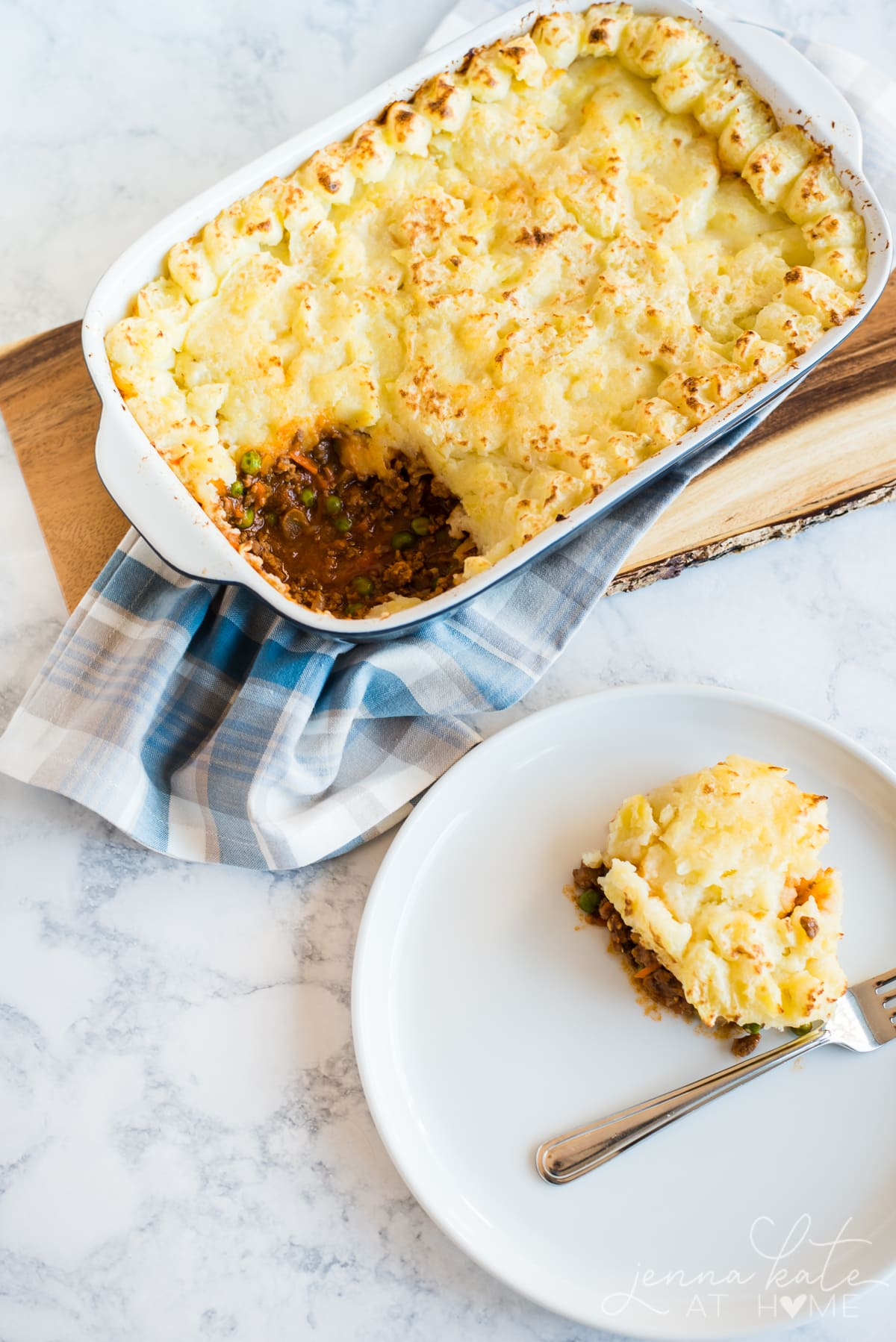 Shepherd's Pie is a great Irish dinner for St. Patrick's Day