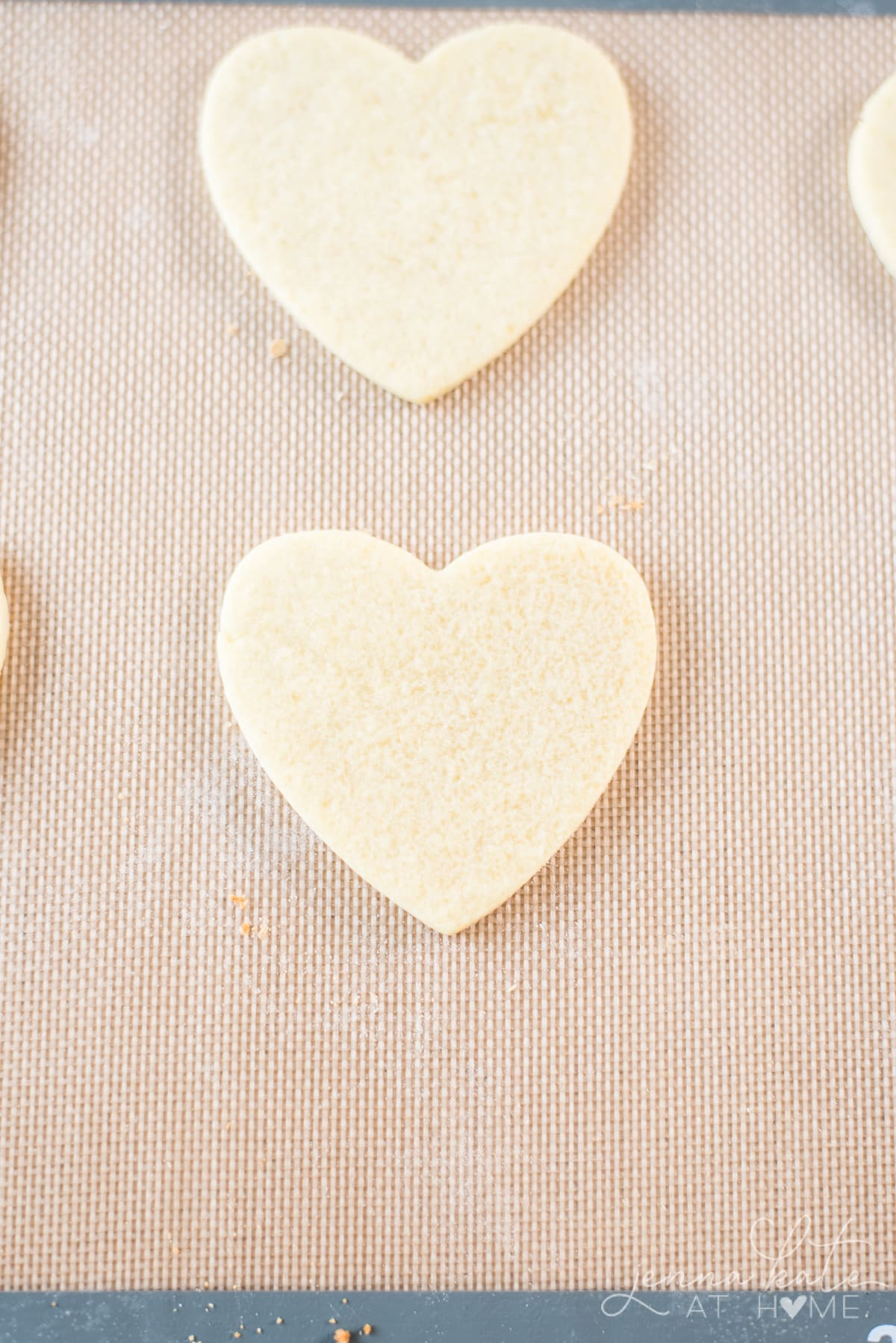How to stop sugar cookie cutouts from spreading: chill and use a silicone baking sheet