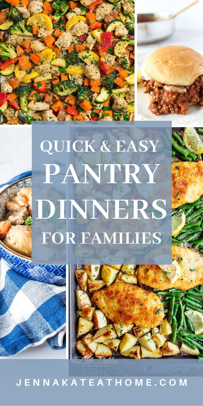 Easy pantry meals for families that are kid and adult approved! Can be made quickly with staple ingredients from your fridge and pantry.