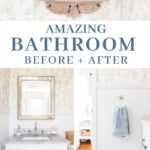 amazing bathroom before and after