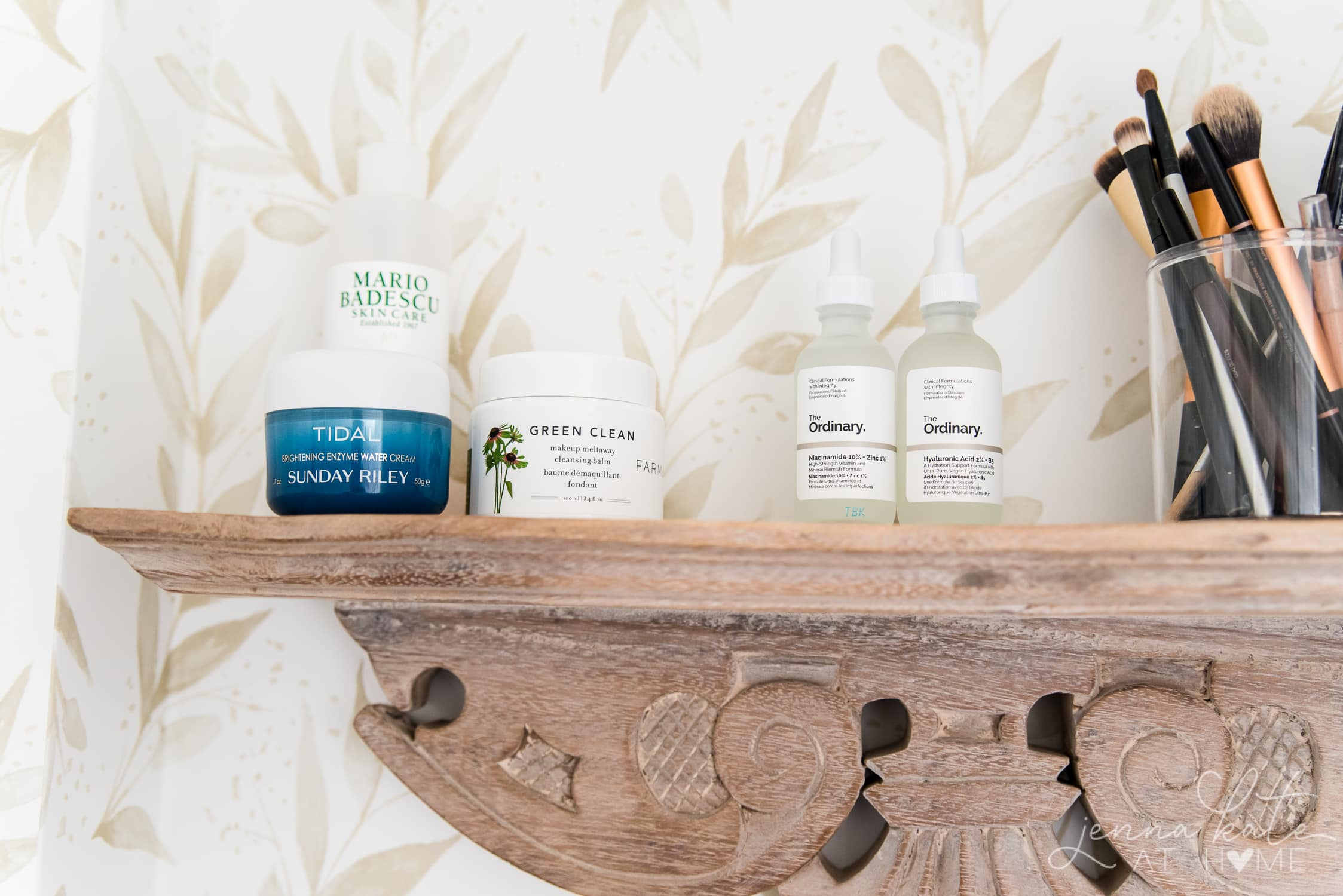 The best skincare products - tidal by sunday riley, green clean makeup remover and serums from the ordinary