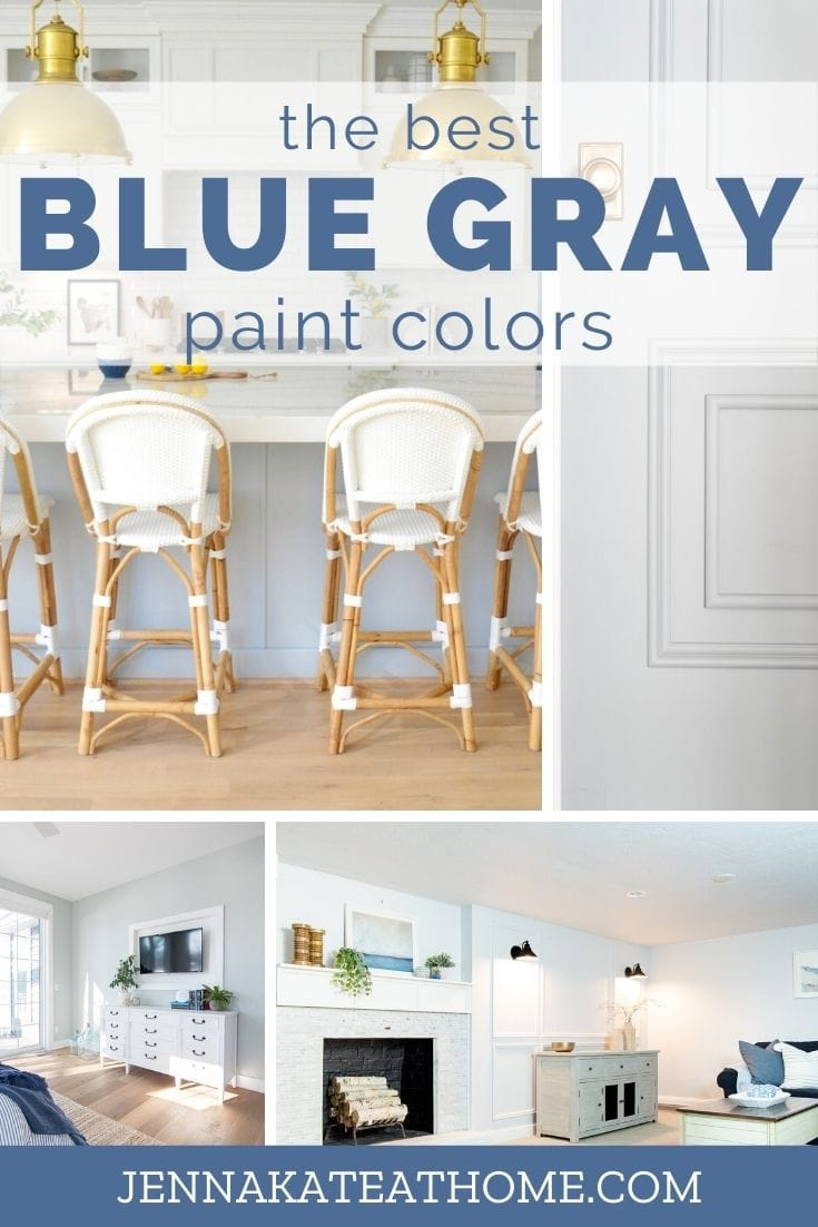The best blue gray paint colors according to Pinterest