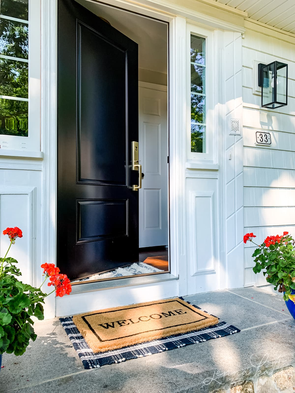The best front door color for resale value is black
