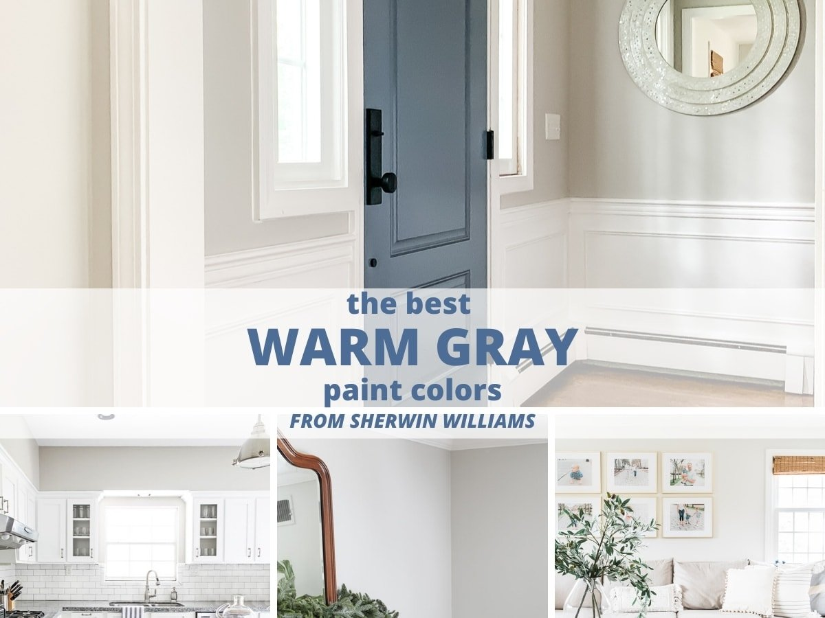 The 3 Best Warm Gray Paint Colors From Sherwin Williams