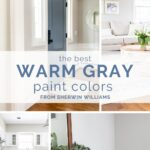 The best warm gray paint colors from Sherwin Williams that will give you that fresh, modern look without making your room feel cold.