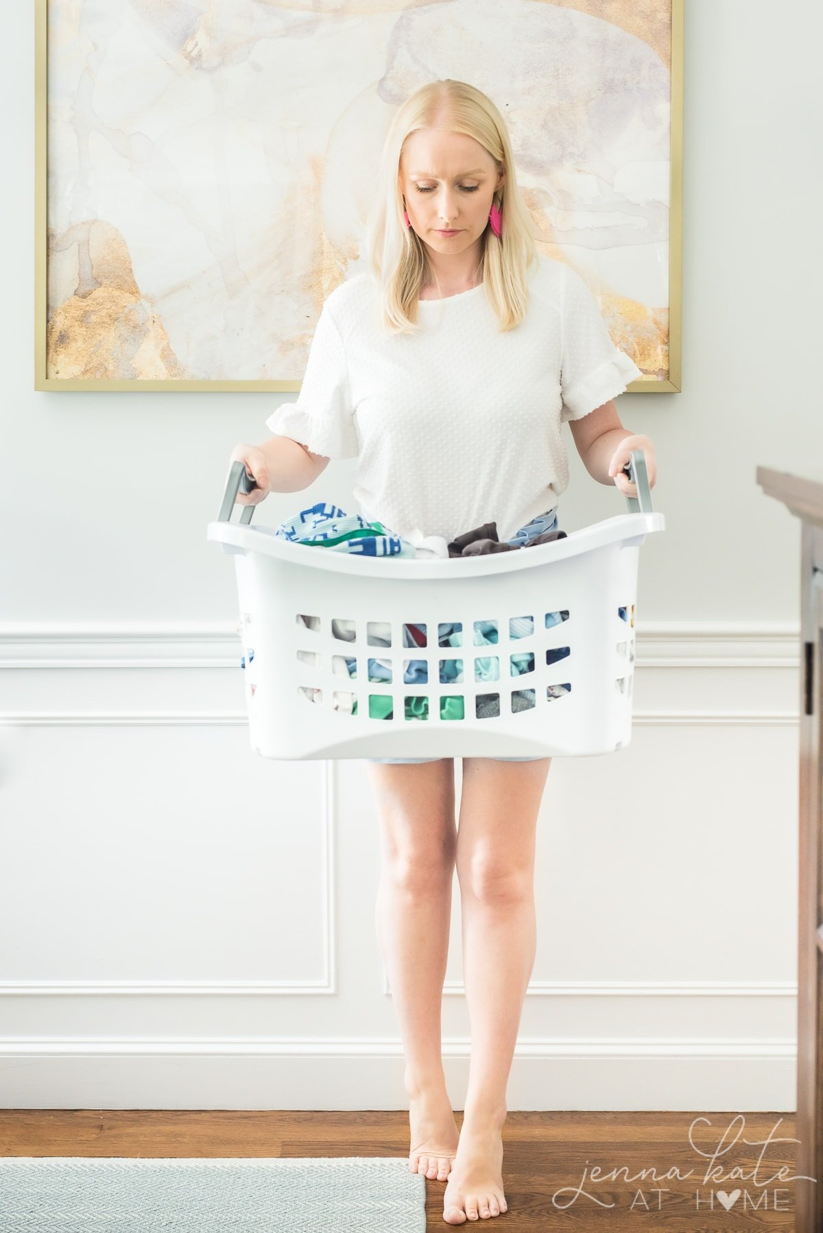 Do one load of laundry every day