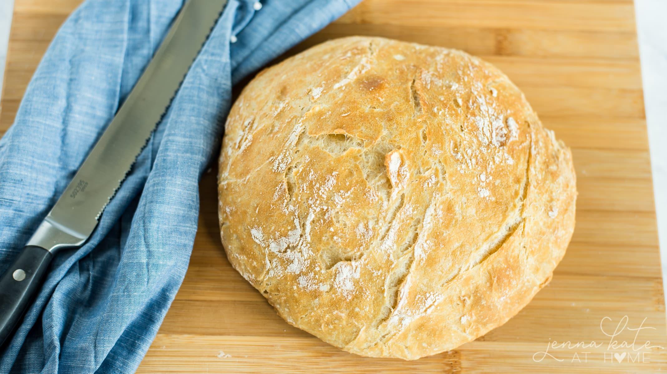 quick crunch artisanal bread recipe