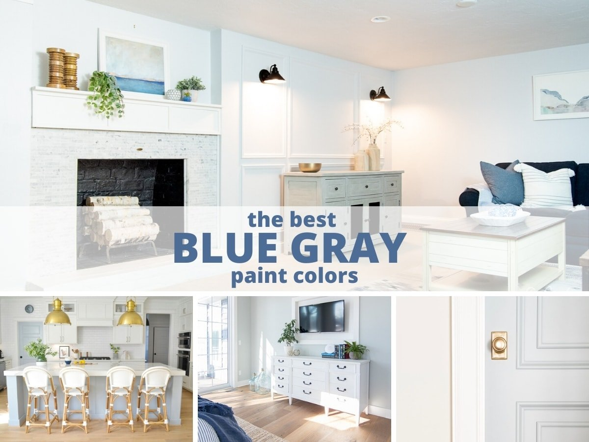 The most popular blue gray paint colors for your home in 2020