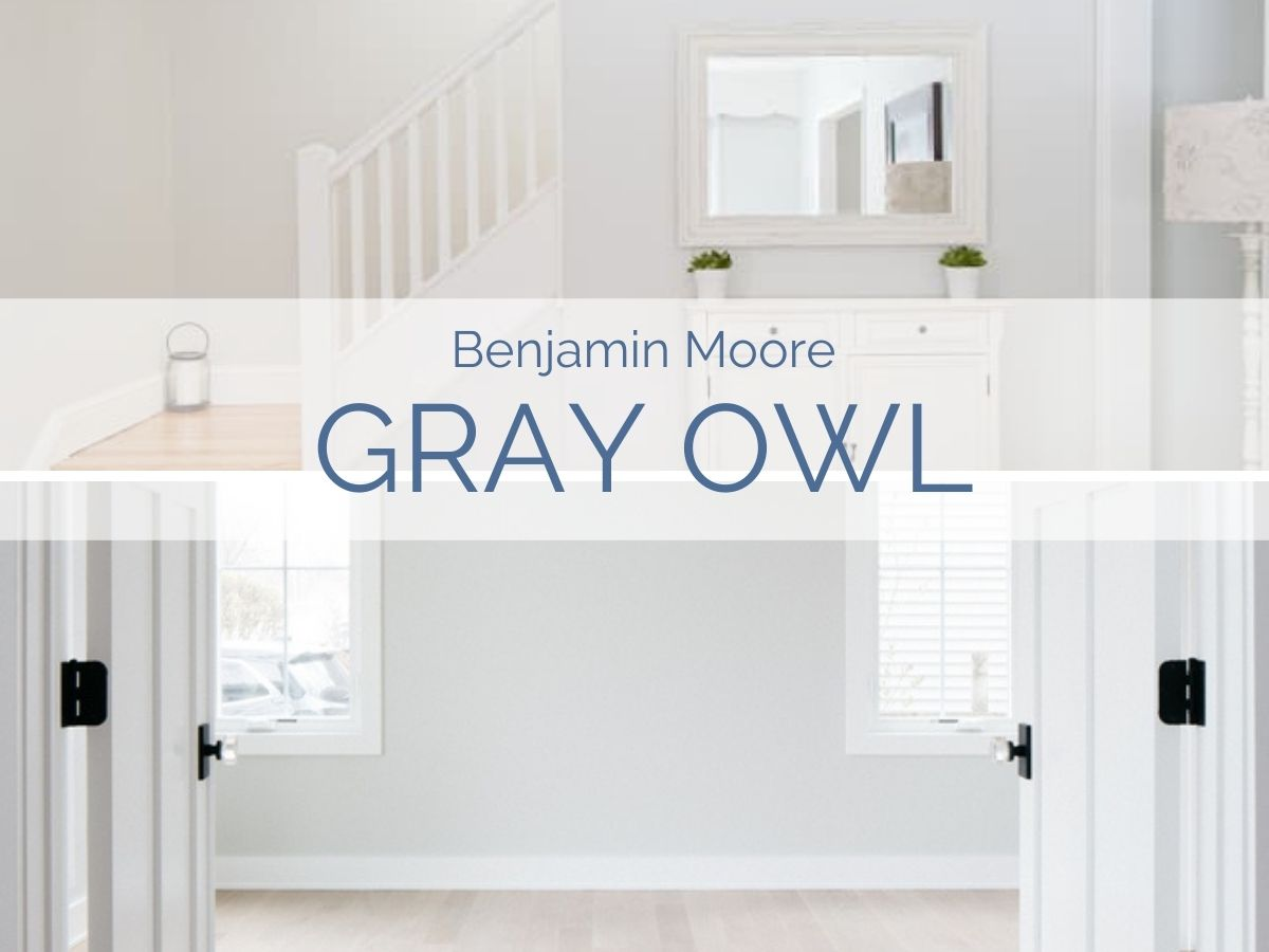 Benjamin Moore Gray Owl Paint Color Review Jenna Kate At Home