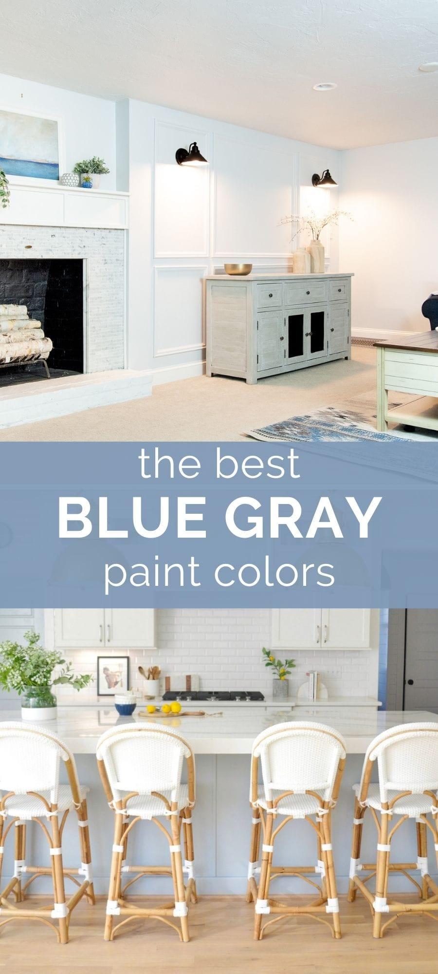 the best blue gray paint colors