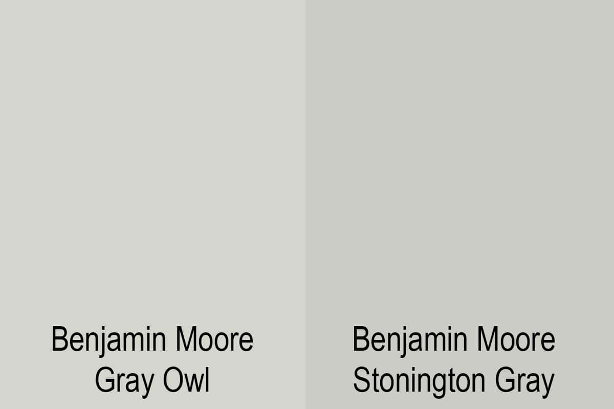 benjamin moore gray owl version stonington gray