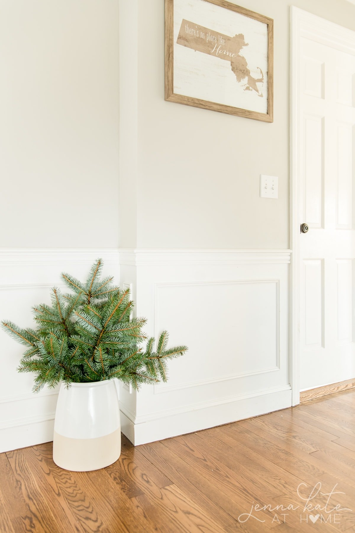 embrace nature for winter decor