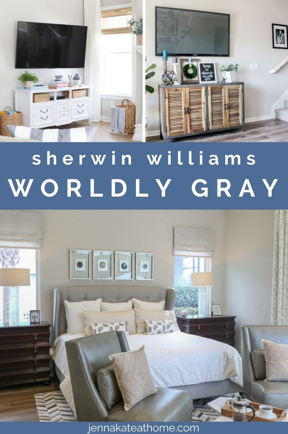sherwin williams worldly gray paint color review