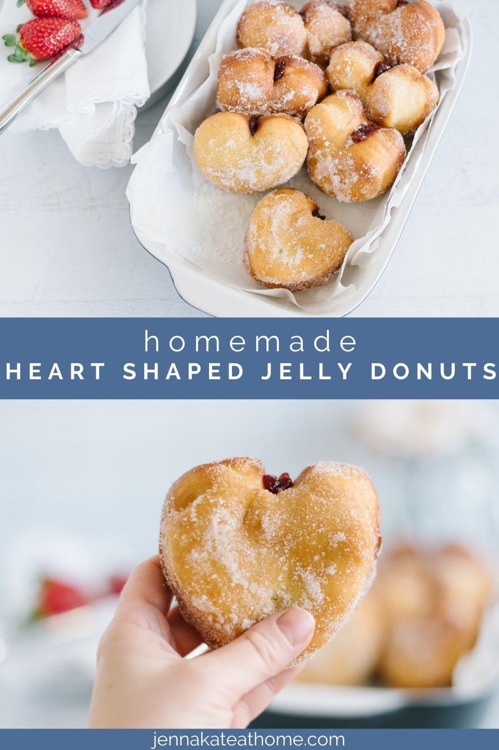 heart shaped donuts pin