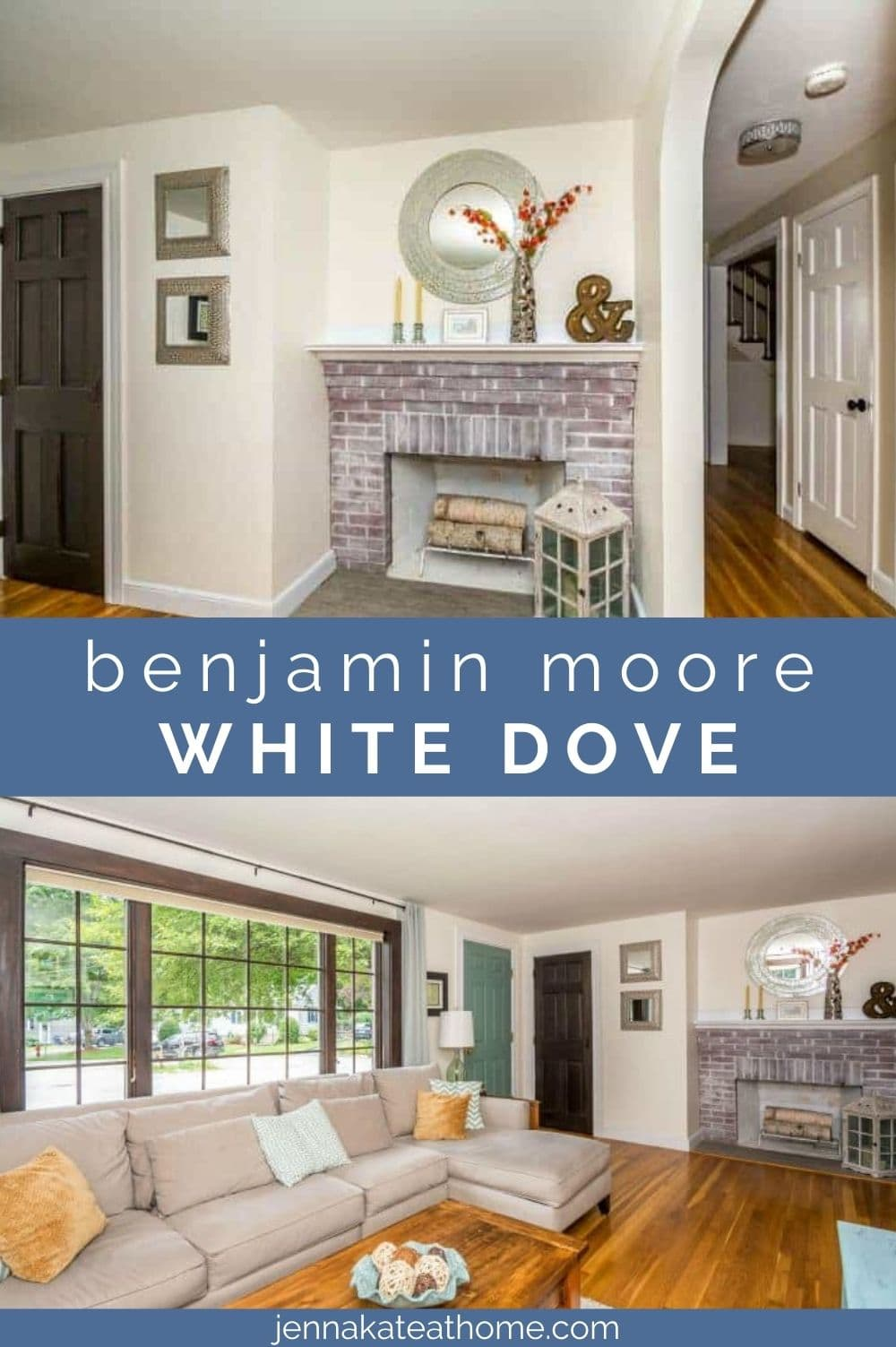 Benjamin Moore White Dove pin image