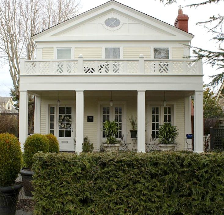 house painted with lancaster whitewash