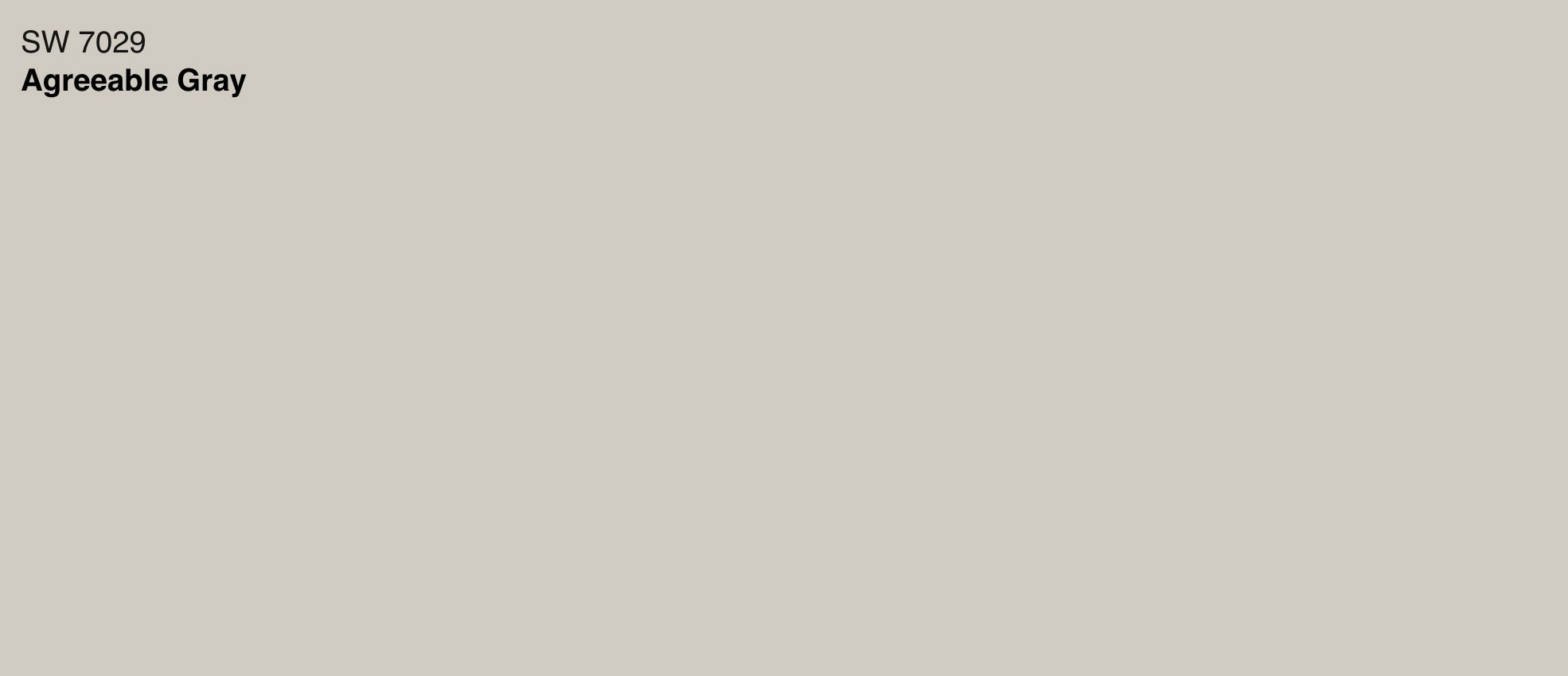 sherwin williams agreeable gray swatch