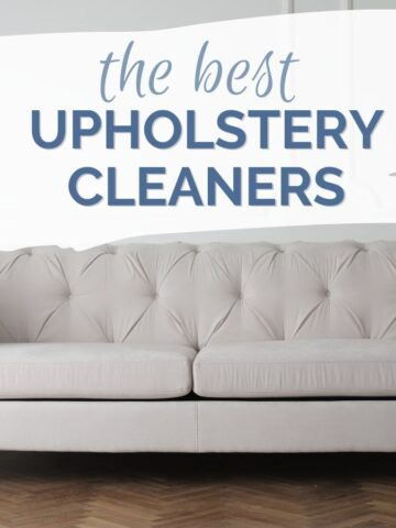 the best upholstery cleaners