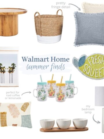 collage of products from Walmart