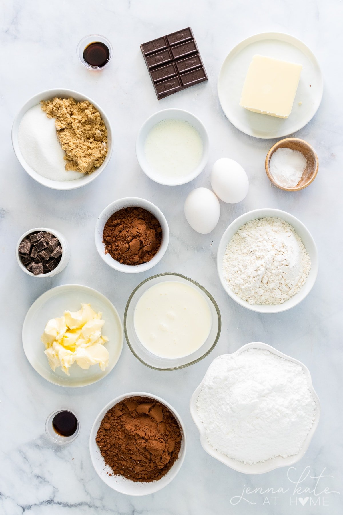 moist chocolate cupcakes ingredients