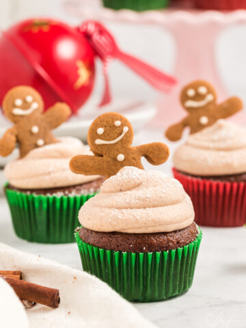 gingerbread cupcake recipe